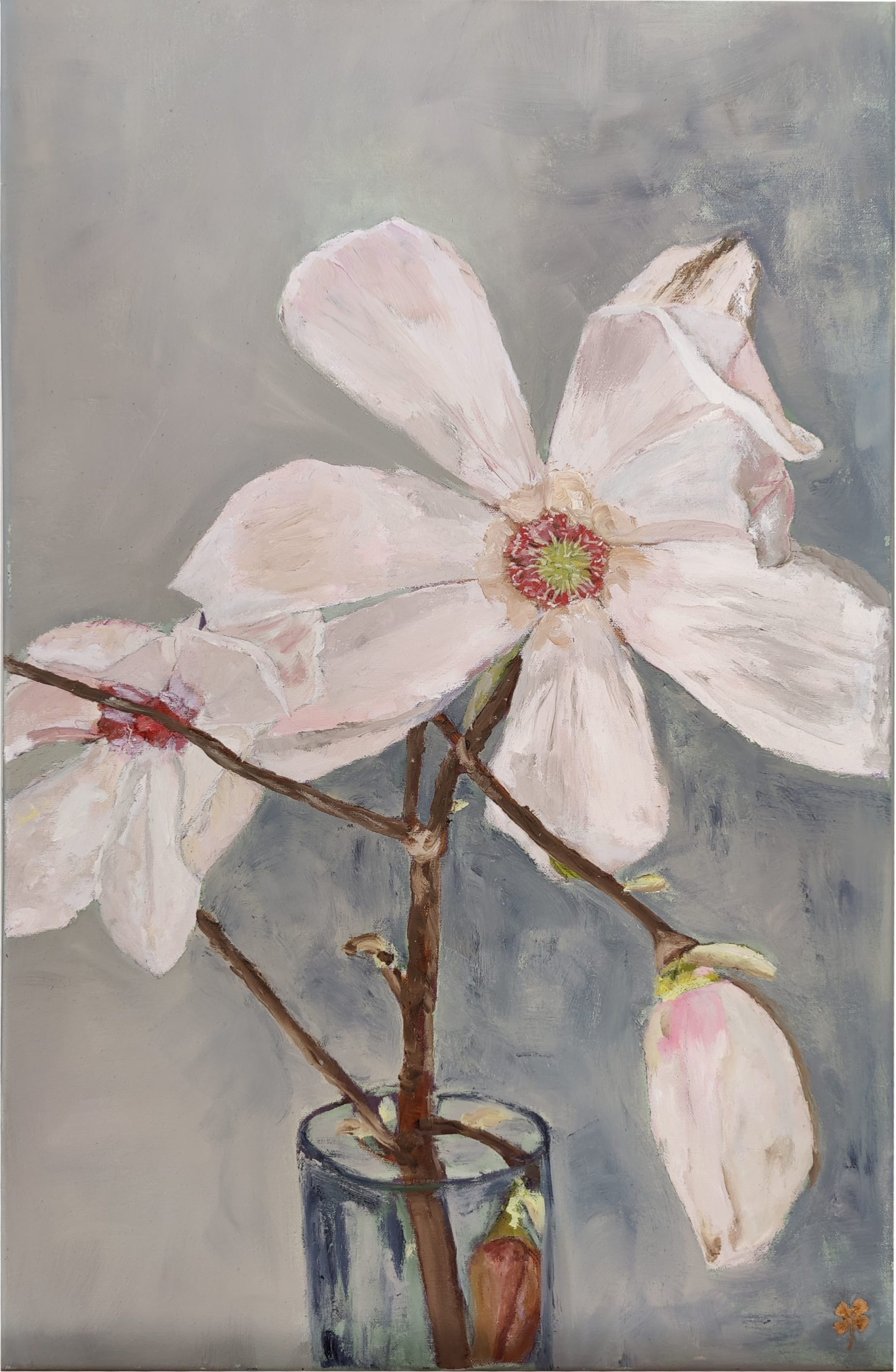 Magnoliatak in vaas